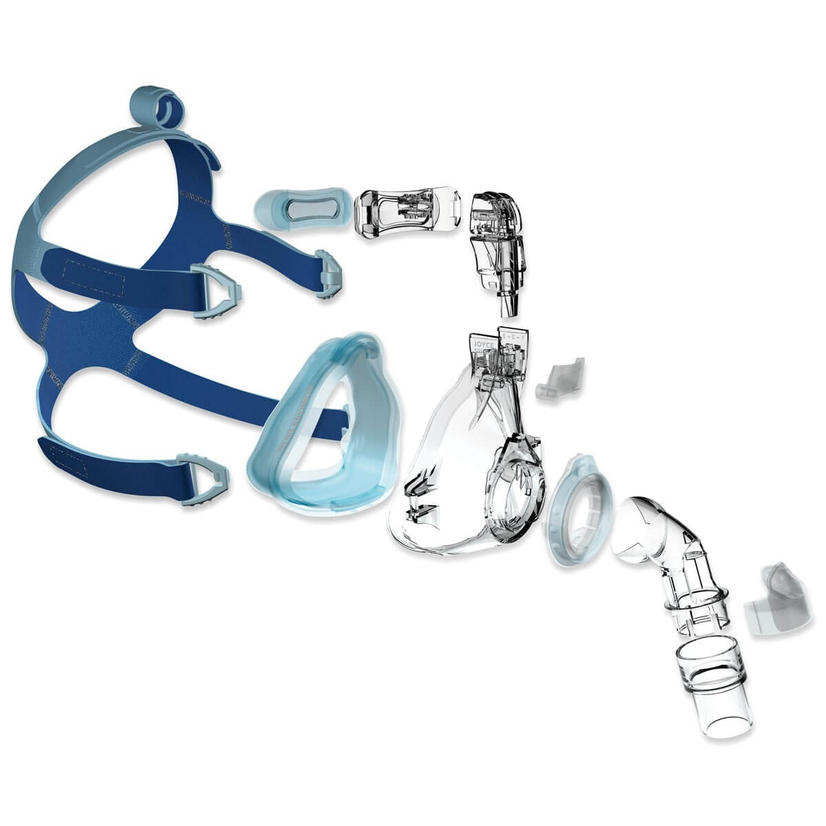 CPAP-Maske Joyce SilkGel Full Face von Löwenstein Medical