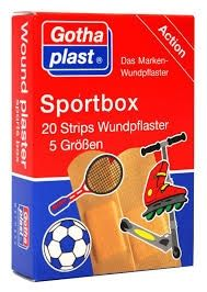 Gothaplast Sportbox Strips in 5 Größen